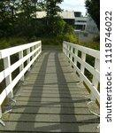 dutch white bridge | Shutterstock . vector #1118746022