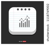business graph icon   free...