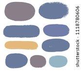 brush strokes set backgrounds.... | Shutterstock .eps vector #1118780606