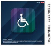 disabled person icon   free...