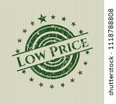 green low price distress grunge ...   Shutterstock .eps vector #1118788808
