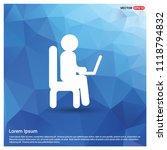 business man working   free... | Shutterstock .eps vector #1118794832