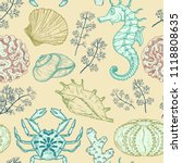 Seamless Pattern With Sketch O...