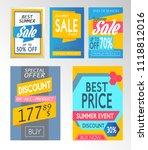 shopping sale vector... | Shutterstock .eps vector #1118812016
