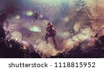 astronauts found mysterious...   Shutterstock . vector #1118815952