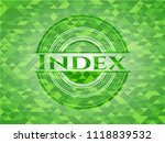 index realistic green mosaic... | Shutterstock .eps vector #1118839532