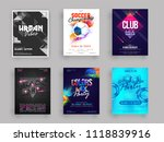 vector illustration of six... | Shutterstock .eps vector #1118839916