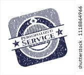 blue personalized service... | Shutterstock .eps vector #1118864966