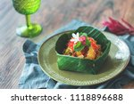 thai pomelo salad | Shutterstock . vector #1118896688