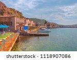 assos  behramkale  ancient... | Shutterstock . vector #1118907086