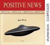 news sheet   special positive...   Shutterstock .eps vector #1118931635