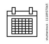 calendar icon vector icon....