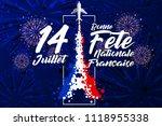 '14 juillet   bonne f te... | Shutterstock .eps vector #1118955338