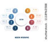 modern infographic. chart...   Shutterstock .eps vector #1118963588
