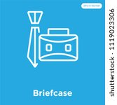 briefcase vector icon isolated...   Shutterstock .eps vector #1119023306