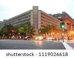 washington  dc   june 02  2018  ... | Shutterstock . vector #1119026618