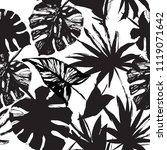 nature seamless pattern. hand... | Shutterstock .eps vector #1119071642