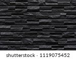 Modern Black Stone Tile Wall...