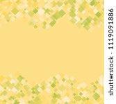 rhombus isolated minimal... | Shutterstock .eps vector #1119091886