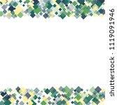 rhombus white minimal geometric ... | Shutterstock .eps vector #1119091946