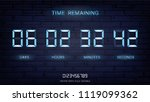 countdown timer remaining or... | Shutterstock .eps vector #1119099362