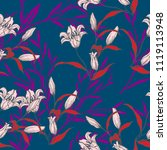 abstract elegance pattern with... | Shutterstock .eps vector #1119113948