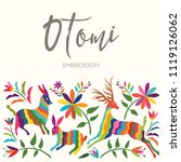 colorful mexican traditional...   Shutterstock .eps vector #1119126062