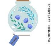 illustration of a herbarium ...   Shutterstock .eps vector #1119138806