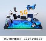 smart appliances  drone ... | Shutterstock . vector #1119148838