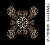 graphic element decoration.... | Shutterstock .eps vector #1119152252