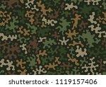 camouflage pattern background...   Shutterstock .eps vector #1119157406