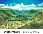 the nature of the north... | Shutterstock . vector #1119176912