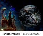 Planet Earth In Deep Space Nea...