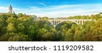 the bridge of adolph is the... | Shutterstock . vector #1119209582