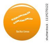 bacillus cereus icon. simple... | Shutterstock . vector #1119270122