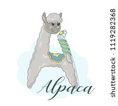 letter a from the alphabet.... | Shutterstock .eps vector #1119282368