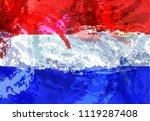netherlands flag. netherlands...   Shutterstock .eps vector #1119287408