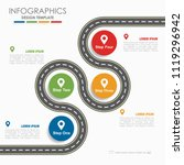 infographic design template... | Shutterstock .eps vector #1119296942