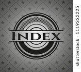 index black badge | Shutterstock .eps vector #1119332225