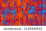 cyberspace virtual... | Shutterstock .eps vector #1119340922