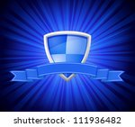 vector illustration of shield... | Shutterstock .eps vector #111936482