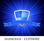 vector illustration of shield... | Shutterstock .eps vector #111936482