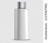 vector cosmetic bottle | Shutterstock .eps vector #1119367982