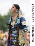 ottawa   june 23  2018  female... | Shutterstock . vector #1119379985