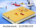 miniature people   man and... | Shutterstock . vector #1119381155