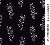 semless pattern with decorative ... | Shutterstock .eps vector #1119382295