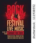 Billboard Rock Festival With An ...
