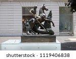 cosenza  italy   june 13  2018  ...   Shutterstock . vector #1119406838