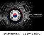 background halftone gradient...   Shutterstock .eps vector #1119415592