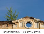 old building wall view against... | Shutterstock . vector #1119421946
